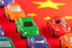 2 billiga kinesimports för bil Arkivbilder