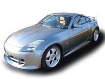 2 bilsportar Arkivfoton