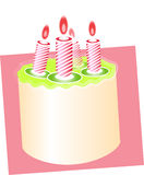 2 birthday cake Στοκ Φωτογραφίες