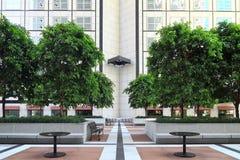 2 biura patio Zdjęcie Stock