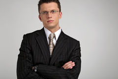 2 biznesmena portret young Obrazy Stock