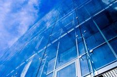 2 blåa djupa stads- Royaltyfria Foton