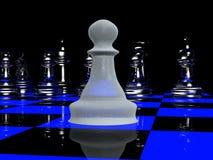 2 blacklight棋 向量例证