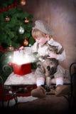 2 bożych narodzeń życzenie Fotografia Stock