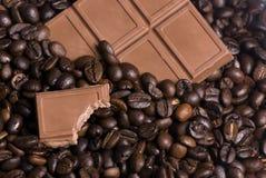 2 bombonierek kawy Obraz Royalty Free