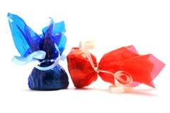2 Bonbons Lizenzfreie Stockfotos