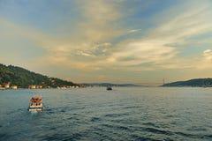 2 bosphorus海岸 免版税图库摄影