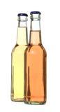 2 bouteilles Images libres de droits