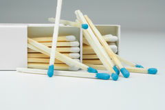 2 box of matches Stock Images