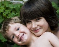 2 boys Stock Images