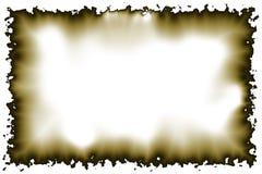 2 bränd parchment Royaltyfri Fotografi