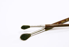 2 brushes Stock Image