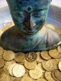 2 buddha Royaltyfri Fotografi