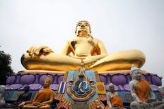 2 buddha guld- fotomateriel thailand Arkivbilder