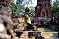 2 Buddha mahathat phra wat zdjęcie royalty free