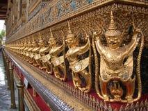 2 buddha smaragdtempel Arkivfoto