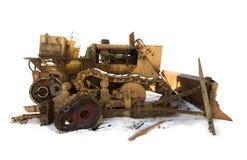 2 buldożer Zdjęcie Royalty Free