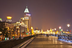 2 bund Shanghai Fotografia Royalty Free