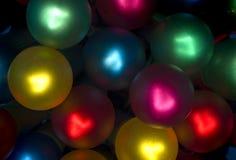 2 bundle holiday light lit Στοκ φωτογραφίες με δικαίωμα ελεύθερης χρήσης