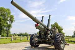 2 bunkierów działa niemiec wojny świat Zdjęcie Stock