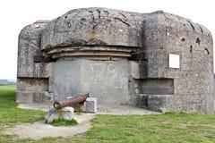 2 bunkierów wojenny świat Obraz Royalty Free
