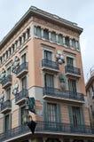 2 byggande spanjor Arkivbild
