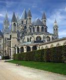 2 caen monastry france Royaltyfria Bilder