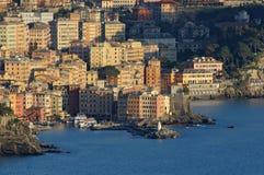 2 camogli panorama zdjęcie royalty free