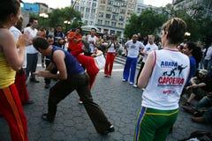 2 capoeiry obraz stock