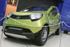 2 car concept lada 库存图片