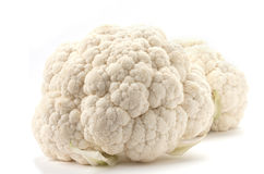 2 cauliflowers Stock Photo