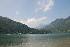 2 cavazzo lago. Zdjęcia Stock