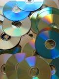 2 CD的混乱 库存图片