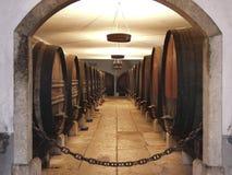 2 celler wino Zdjęcie Stock