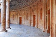 2 central podwórko Alhambra Zdjęcia Stock