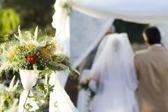 2 ceremonii ślubu Zdjęcia Stock