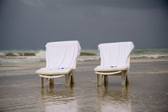 2 chairs Stock Image