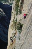 2 changkong falezy footway huashan góra Zdjęcia Royalty Free