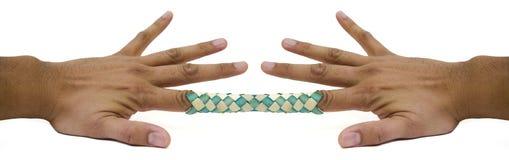 2 chiński palec pułapka Zdjęcie Stock