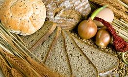 2 chlebów grupa Fotografia Royalty Free