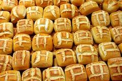 2 chlebowej rolki Zdjęcia Stock