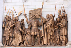 2 Christ wybawiciela świątynia obraz royalty free