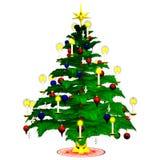 2 christmastree 免版税库存照片
