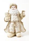 2 claus золотистый santa Стоковое Изображение
