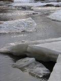 2 clearingowa rzeki Obraz Royalty Free