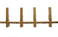 2 clothespins Стоковые Изображения