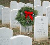2 cmentarzy s weteran Obraz Royalty Free