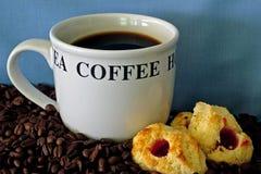 2 cofee时间 免版税库存图片