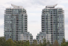 2 Condos Royalty Free Stock Images