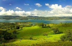2 costa rica Arenal jeziora. Fotografia Stock